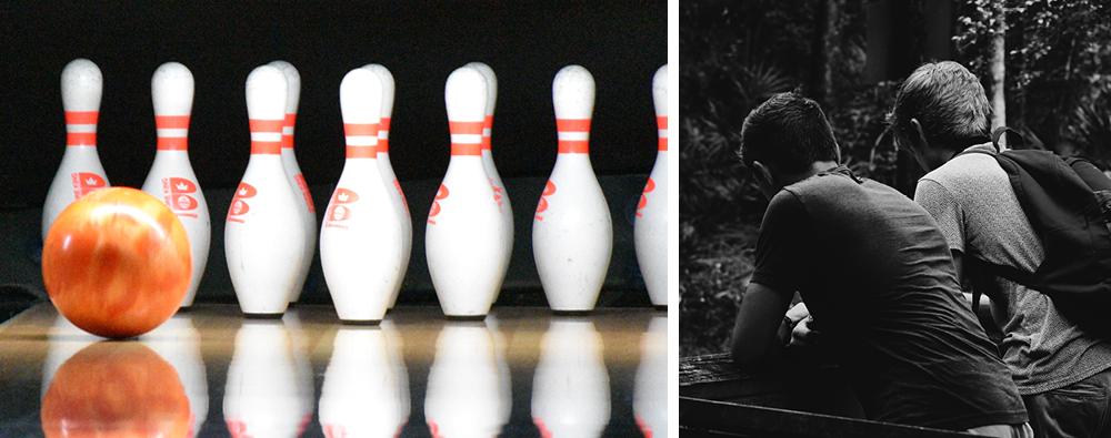 Aktivera Korttidshem | Bowling och kompisar